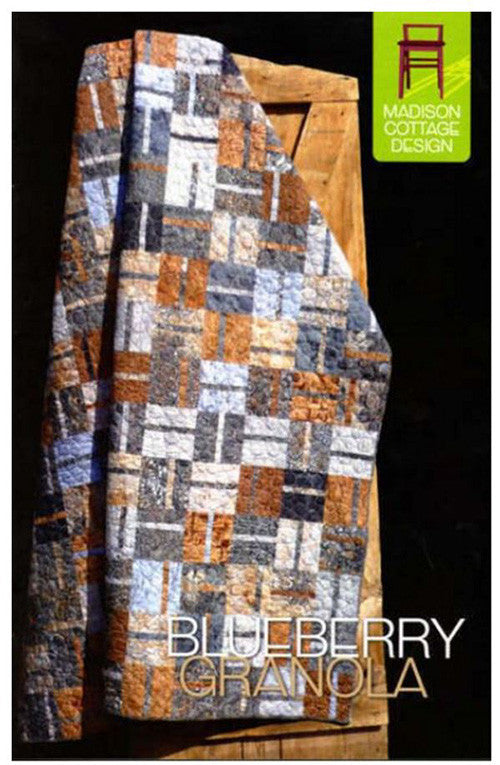 Quilt Pattern - Madison Cottage - Blueberry Granola