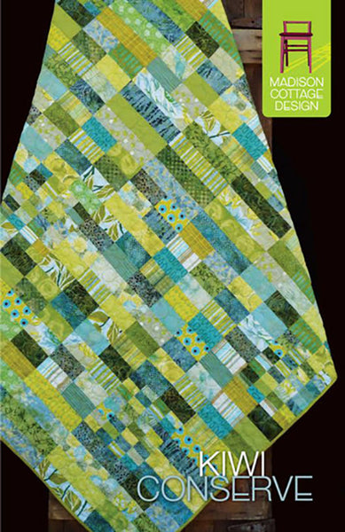 Quilt Pattern Madison Cottage Kiwi Conserve Shibori