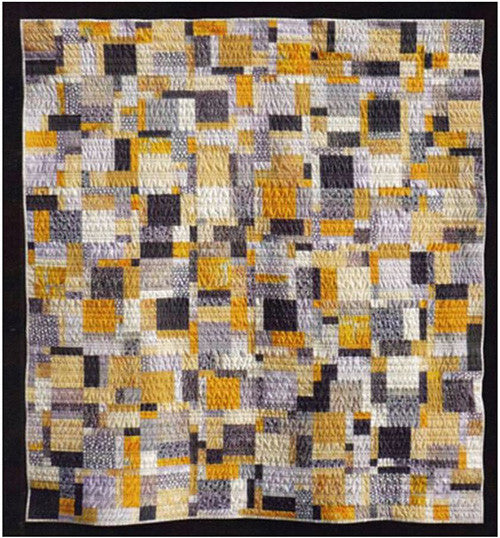 Quilt Pattern Madison Cottage Lemon Pepper Shibori
