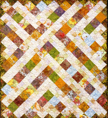 Quilt Pattern - Madison Cottage - Mango Parfait