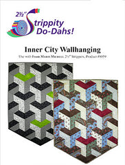 Quilt Pattern & Template - Marti Michell - Inner City Wall Hanging (Japanese Bishamon design)