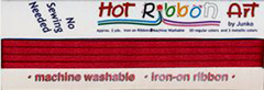 Hot Ribbon - Maroon # 09