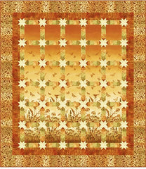 Quilt Pattern - Patti Carey Designs - Meadow Stars