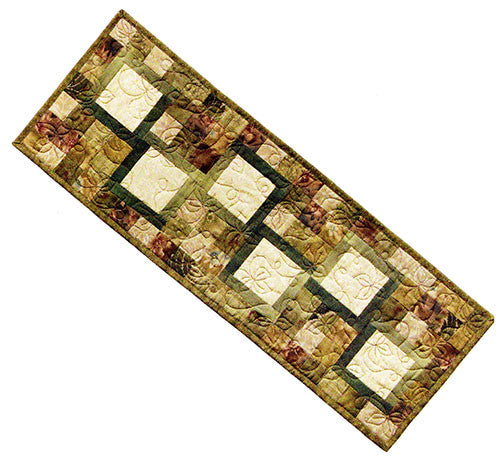 Quilt Pattern & Table Runner - Mountainpeek - Memories