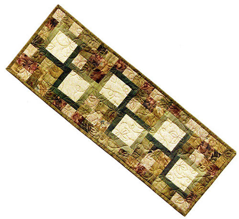 Quilt Pattern & Table Runner - Mt. Peek - Memories