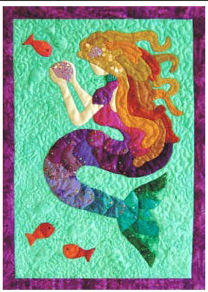 Quilt Pattern Top Of The Range Mermaid Tails Shibori