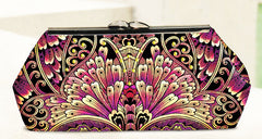 Bag Pattern - Pink Sand Beach Designs - Modern Clutch with  Frame