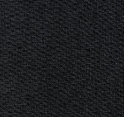 Japanese Fabric - Azumino-Momen - # 111 Black