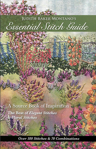 Book -  Judith Baker Montano's Essential Stitch Guide