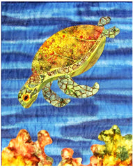Quilt Pattern - Castilleja Cotton - Mortimer the Turtle