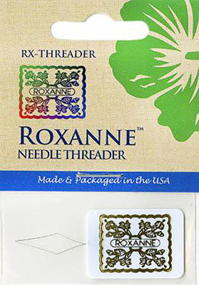 Notions - Roxanne Gold Embossed Needle Threader