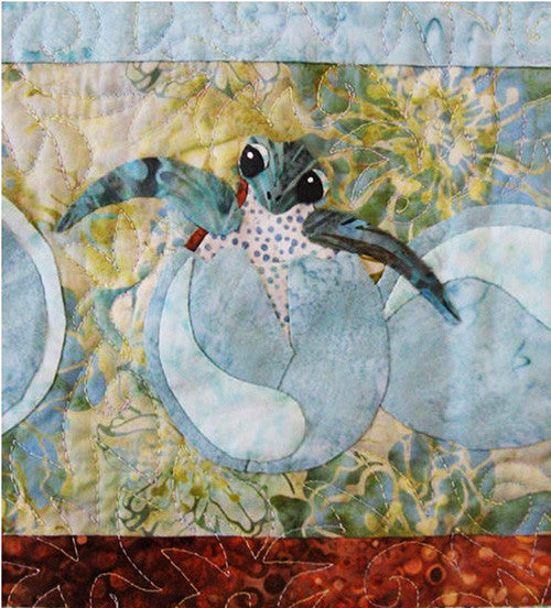 Quilt Pattern Java House Newly Hatched Turtle Quilt