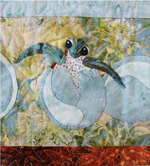 Quilt Pattern - Java House - Newly Hatched Turtle Quilt & Wall Hanging