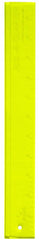 "Rulers & Templates - Add-A-Quarter - 12"" Ruler - Yellow"