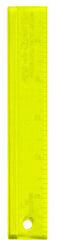"Rulers & Templates - Add-A-Quarter - 6"" Ruler - Yellow"