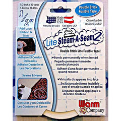 Interfacings & Stabilizers - Steam-A-Seam2 - LITE - Double Stick Fusible Tape - 1/2 inch