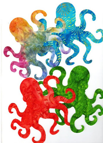 Fabric Fun Shapes - Sea Life - Octopus