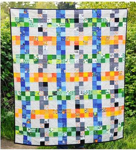 Quilt Pattern - Kitchen Table Quilting - On the Fence