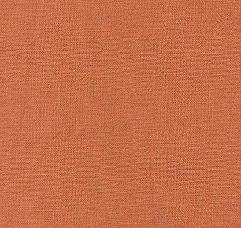 Japanese Fabric - Azumino-Momen - # 098 Dark Orange