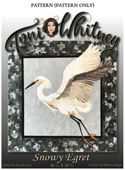 Quilt Pattern - Toni Whitney Design - Snowy Egret