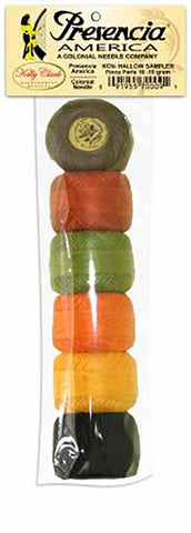 Presencia Perle Cotton Sampler Pack - HALLOWEEN - Size 8