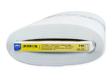 Interfacings & Stabilizers - Pellon Peltex 71F - One-Sided Fusible Ultra Firm Stabilizer