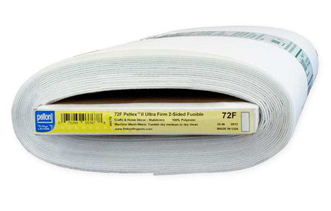 Interfacings & Stabilizers - Pellon Peltex 72F - Two-Sided Fusible Ultra Firm Stabilizer