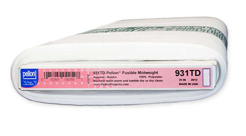 Interfacings & Stabilizers - Pellon Midweight Fusible - 931TD