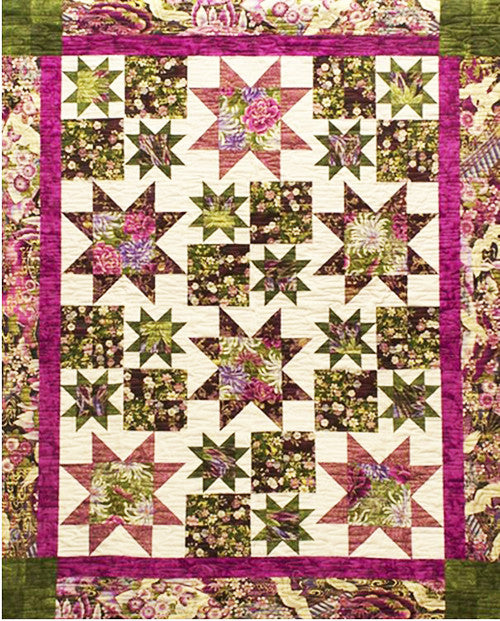 Quilt Pattern - Pressed For Time Quiltworks - Bobby Dazzler