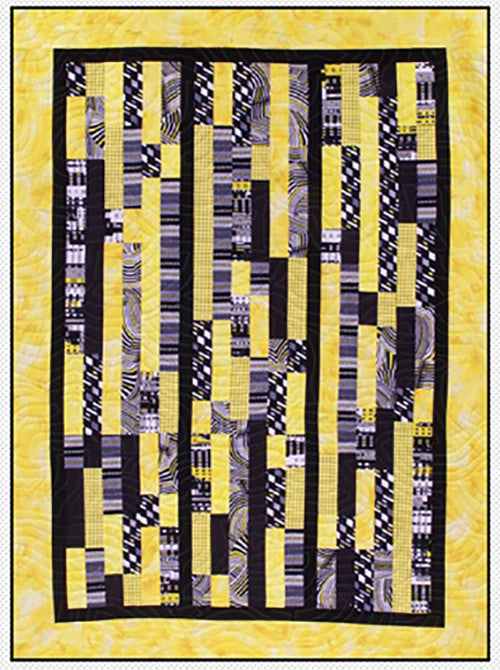 Quilt Pattern - Pressed For Time Quiltworks - Bar Hopping