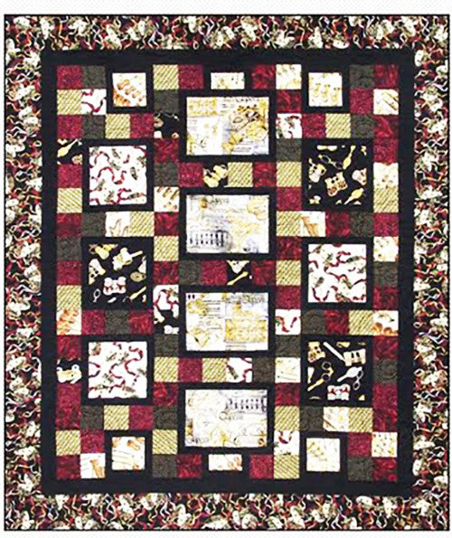 Quilt Pattern - Pressed For Time Quiltworks - Bravo