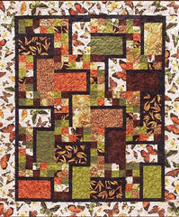 Quilt Pattern - Pressed For Time Quiltworks - Flim Flam