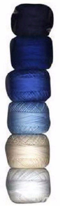 Presencia Perle Cotton Sampler Pack - Sashiko Basic - Size 8