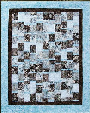 Quilt Pattern - Pressed For Time Quiltworks - Changing Lanes