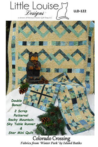 Quilt Pattern & Table Runner - Little Louise Designs - Colorado Crossing