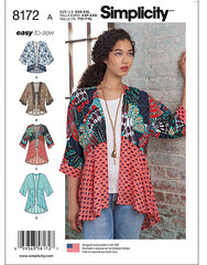 Wearables - Kimono Jacket - Simplicity Easy to Sew