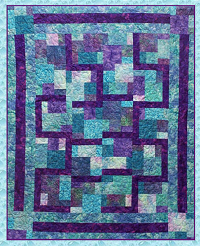 Quilt Pattern - Pressed For Time Quiltworks - Follow the Leader