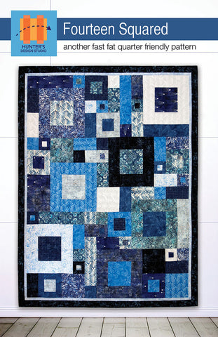 Quilt Pattern -  Hunter Design Studio - Fourteen Squared