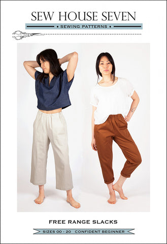 Wearables - Sew House Seven - Free Range Slacks