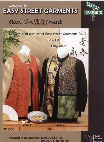 Wearables - Four Corners Designs - Easy Street Garments - Good InVESTment