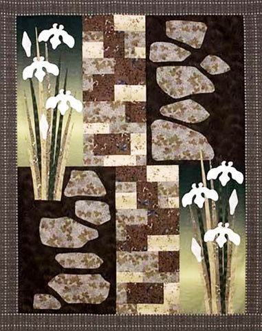 Quilt Pattern - Story Quilts - Helene Knott - Iris Pathway