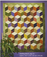 Template & Quilt Pattern - Marti Michell - 60 Decree Diamond Template #8228