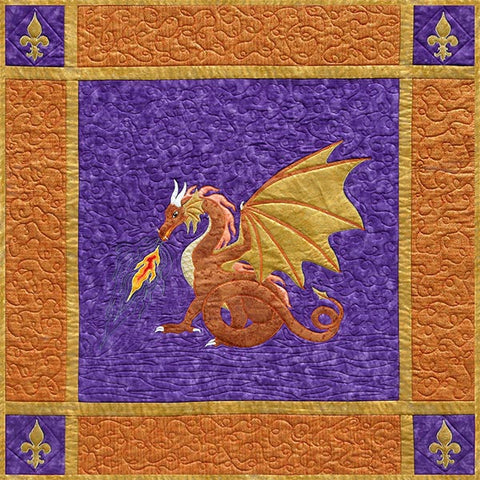Quilt Pattern - Needlesongs - Dragonfire