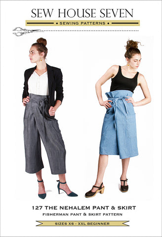 Wearables - Sew House Seven - Nehalem Pant & Skirt