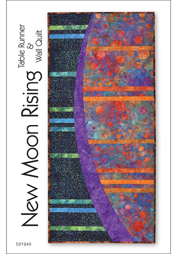 Table Runner & Quilt Pattern - Tiger Lily Press - New Moon Rising