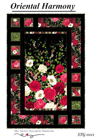 Quilt Pattern - Sweet Tea Girls - Oriental Harmony