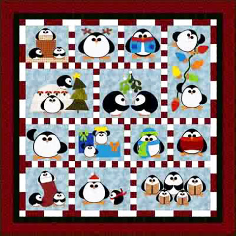 Pattern - Just for Fun - Penguin Cheer - ON SALE