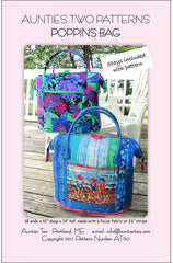 Bag Pattern - Aunties Two -  Poppins Bag