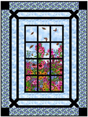 Quilt Pattern - Little Louise Designs - Prairie Gate Window