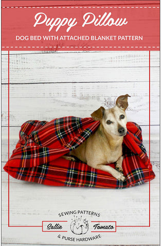 Pattern - Just for Fun - Sallie Tomato -  Puppy Pillow